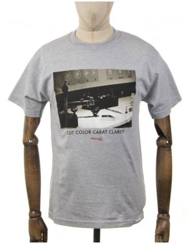 Diamond Supply Co CCC T-Shirt - Heather Grey