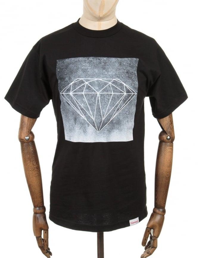 Diamond Supply Co Chalk T-Shirt - Black