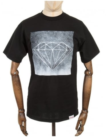 Diamond Supply Co Chalk T-Shirt - Black