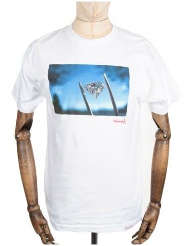 Diamond Supply Co Diamond Sky Tee - White