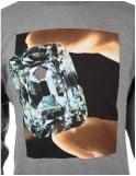 Diamond Supply Co Gem Crewneck Sweatshirt - Grey
