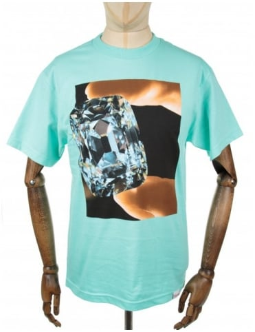 Gem Tee - Diamond Blue