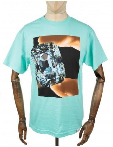 Diamond Supply Co Gem Tee - Diamond Blue