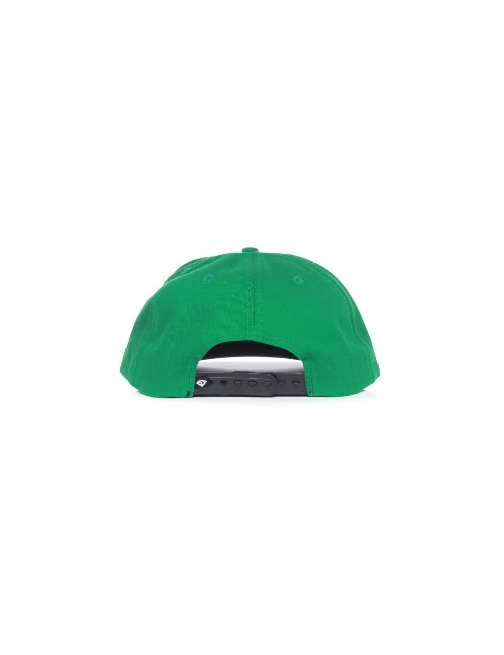 9f6426f8affa98 Diamond Supply Co Rock Snapback Hat - Green/White - Hat Shop from ...
