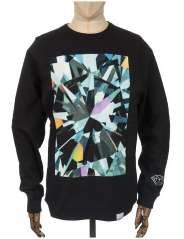 Diamond Supply Co Simplicity Box Sweatshirt - Black