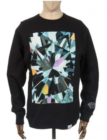 Diamond Supply Co Simplicity Box Sweatshirt - Black