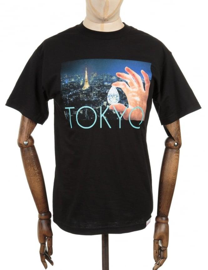 Diamond Supply Co Tokyo Life Photo T-shirt - Black