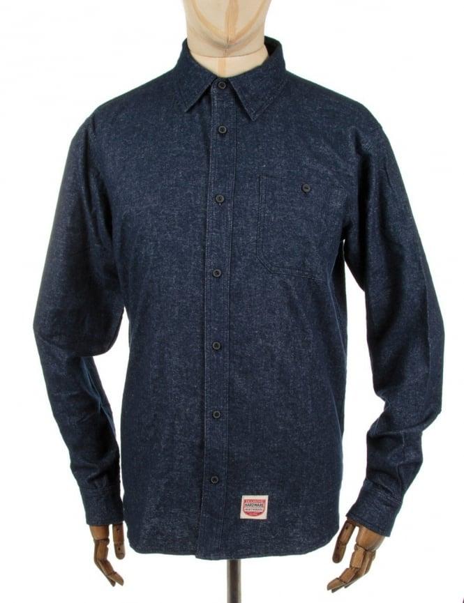 Diamond Supply Co Union Woven Shirt - Blue