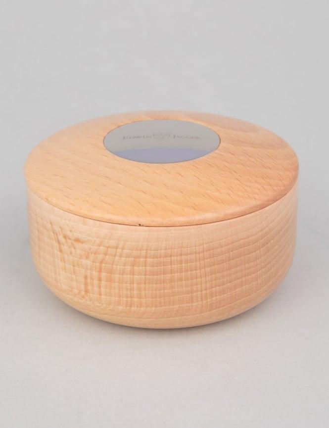 Edwin Jagger Beech Wood Shaving Soap Bowl