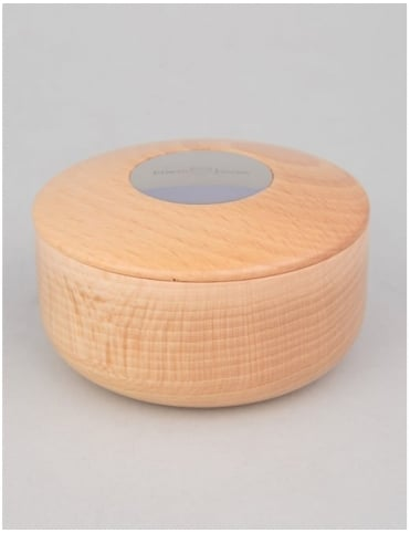Edwin Jagger Beech Wood Shaving Soap Bowl