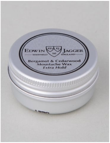 Moustache Wax - Bergamot & Cedarwood (Extra Hold)