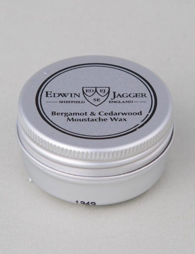 Edwin Jagger Moustache Wax - Bergamot & Cedarwood (Standard Hold)