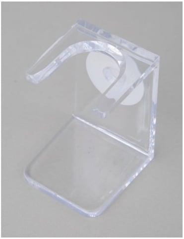 Edwin Jagger Plastic Drip Stand Small Neck - Clear