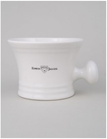 Porcelain Shaving Bowl - Ivory