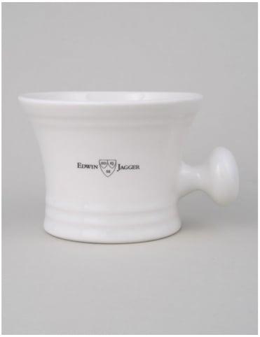 Edwin Jagger Porcelain Shaving Bowl - Ivory