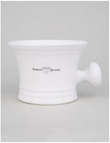 Edwin Jagger Porcelain Shaving Bowl - White