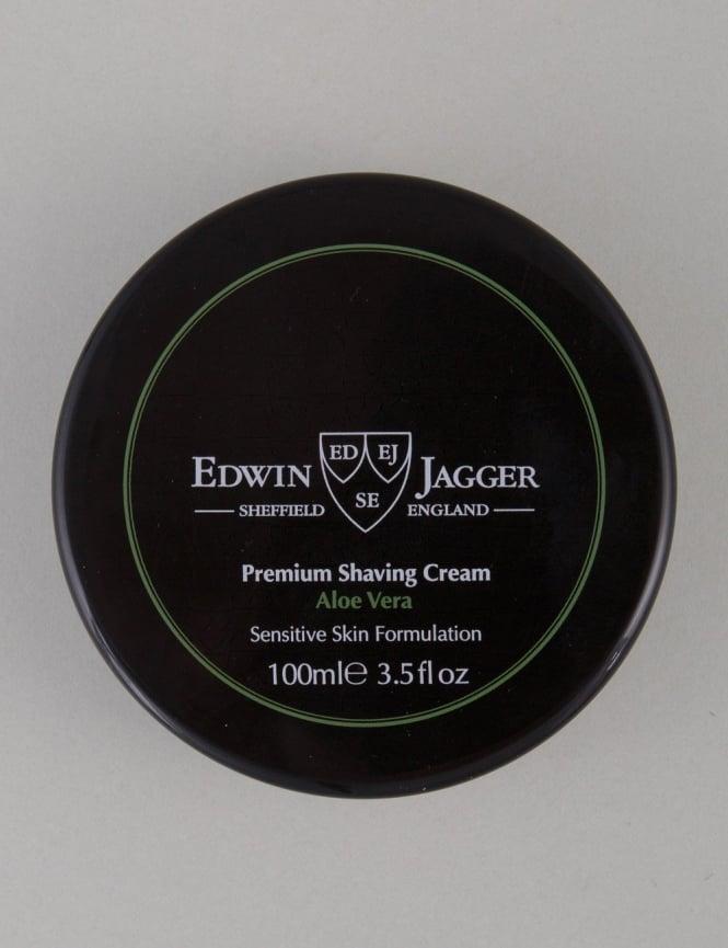 Edwin Jagger Premium Shaving Soap Tub - Aloe Vera (100ml)