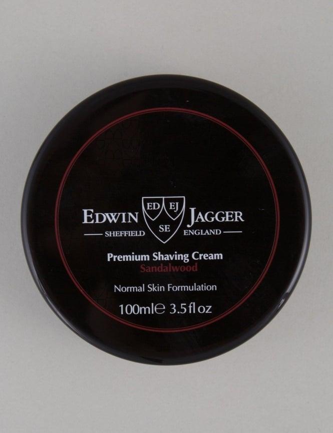 Edwin Jagger Premium Shaving Soap Tub - Sandalwood (100ml)