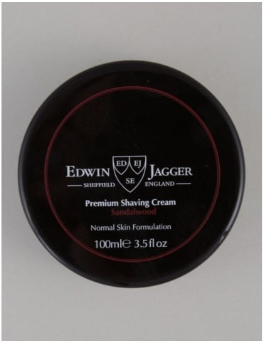 Edwin Jagger Premium Shaving Soap Tub - Sandalwood (100ml)