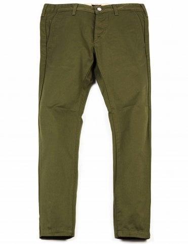 61e2e4fc58 Edwin Jeans 55 Chino - Military Green