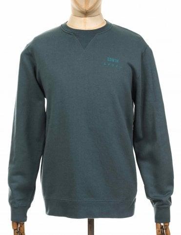 9a6cf631c3b Base Sweatshirt - Dark Slate Sale · Edwin Jeans ...