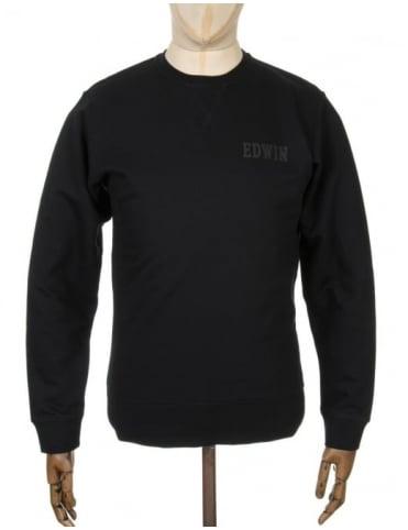 Edwin Jeans Classic Logo Sweatshirt - Black
