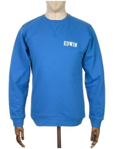 Edwin Jeans Classic Logo Sweatshirt - Royal Blue