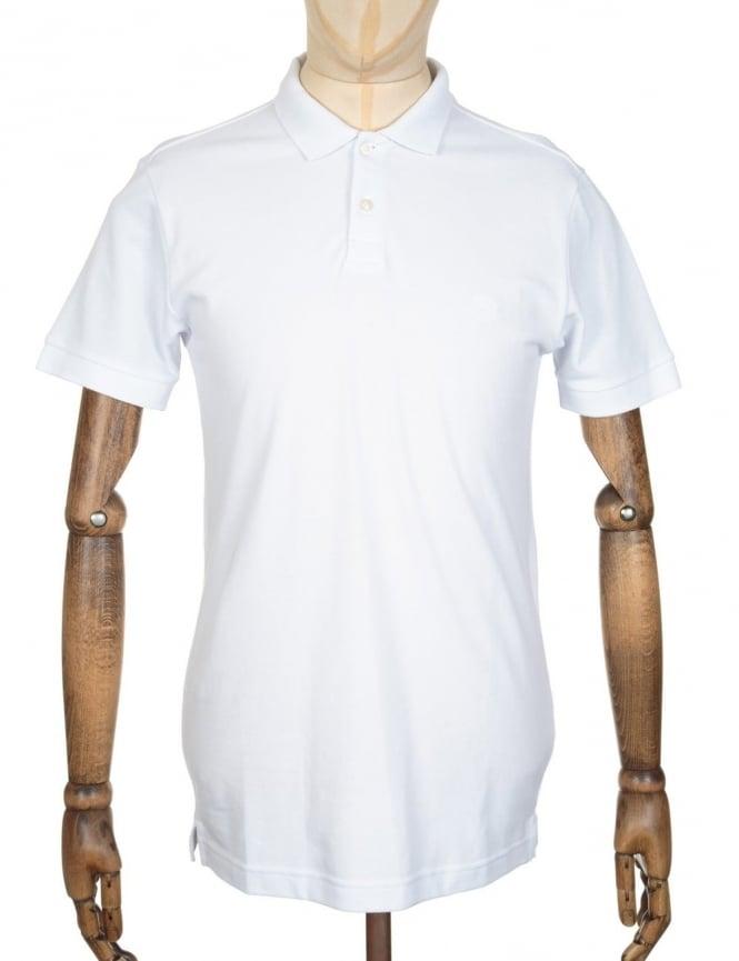 Edwin Jeans Classic Polo Shirt - White