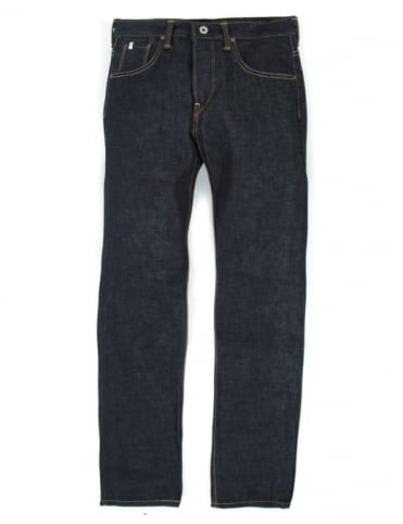 Edwin Jeans Classic Regular Straight Rainbow Selvedge Denim - Raw State