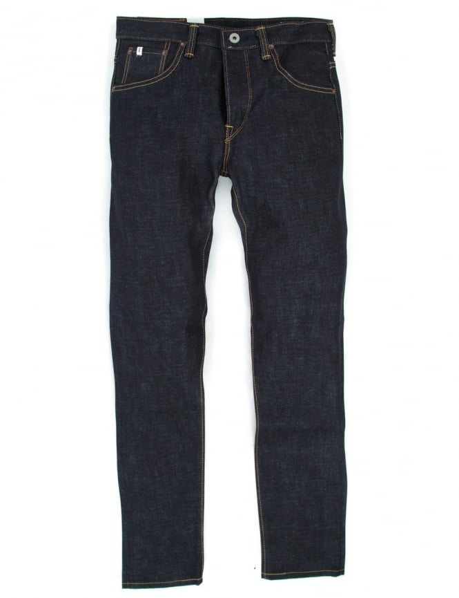 Edwin Jeans Classic Regular Tapered Rainbow Selvedge Denim - Raw State