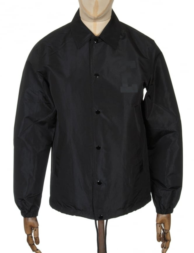 Edwin Jeans Coach Jacket - Black Twill