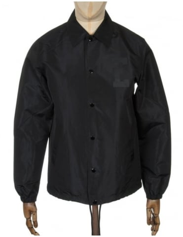 Edwin Jeans Coach Jacket - Black Twill