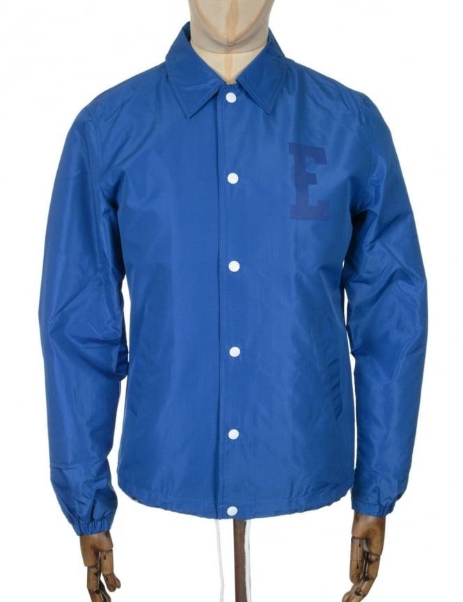 Edwin Jeans Coach Jacket - Royal Blue Twill