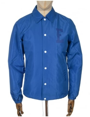 Edwin Jeans Coach Jacket - Royal Blue Twill