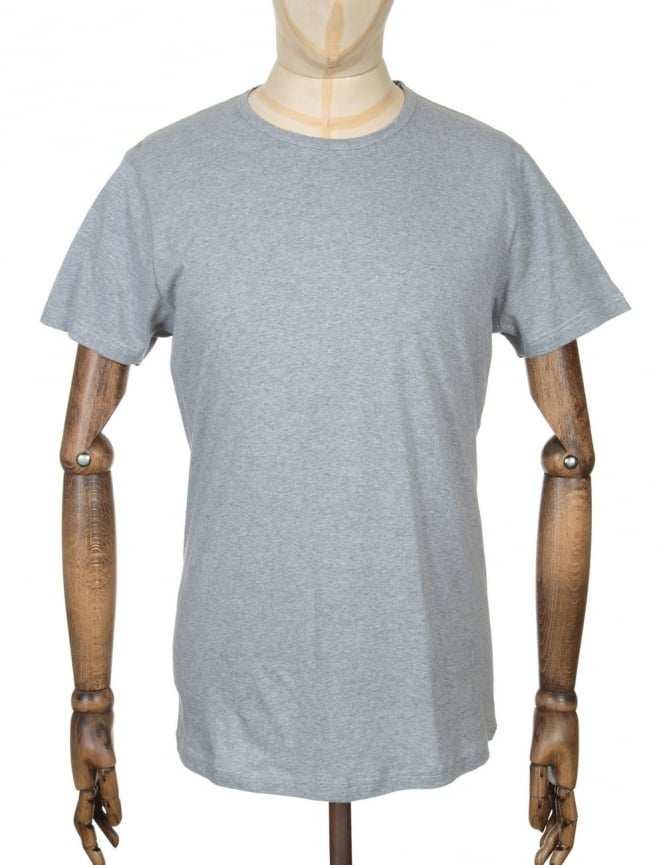 Edwin Jeans Double Pack T-shirt Tin - Heather Grey