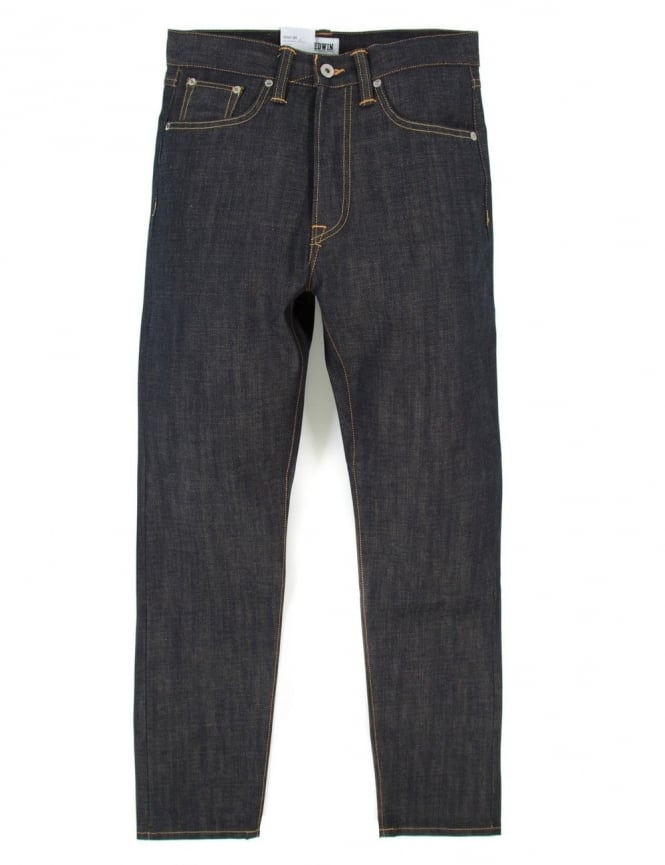 Edwin Jeans ED-45 Loose Tapered Granite Denim - Unwashed