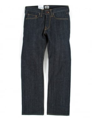 Edwin Jeans ED-47 Denim - Unwashed (Red Selvedge)