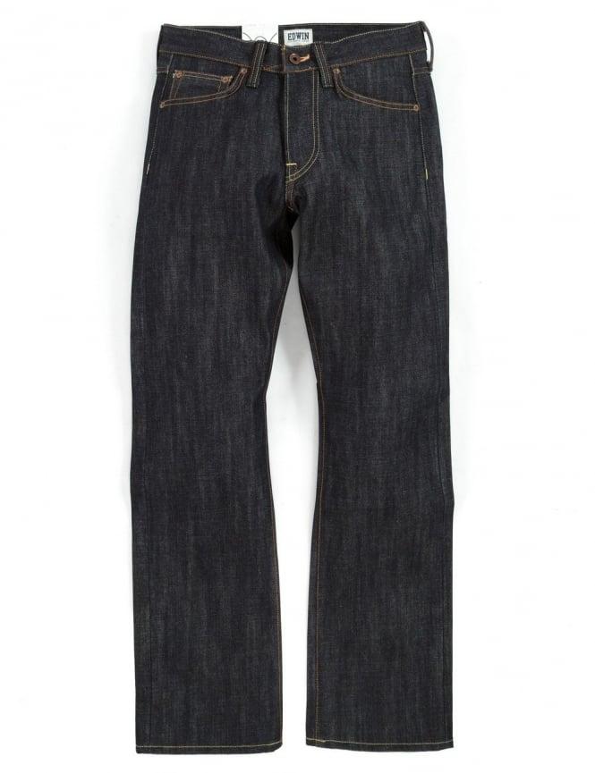 Edwin Jeans ED-47 Regular Straight Rainbow Selvedge Denim - Unwashed