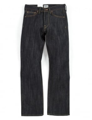 Edwin Jeans ED-47 Regular Straight Rainbow Selvedge Denim - Unwashed