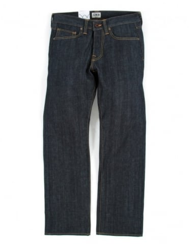 Edwin Jeans ED-47 Regular Straight Red Listed Selvedge Denim - Unwashed