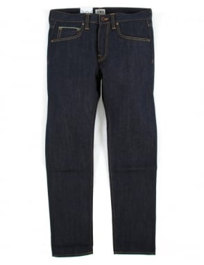 Edwin Jeans ED-55 Denim - Unwashed (63 Rainbow Selvedge)