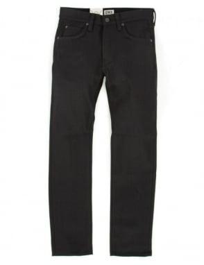 Edwin Jeans ED-55 Denim - White Listed (Black Selvedge)