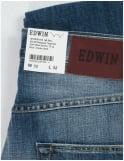 Edwin Jeans ED-55 Slim Tapered 12oz Denim - Blue Break Used
