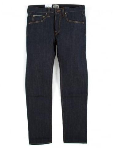 Edwin Jeans ED-55 Slim Tapered 63 Rainbow Selvedge Denim - Unwashed