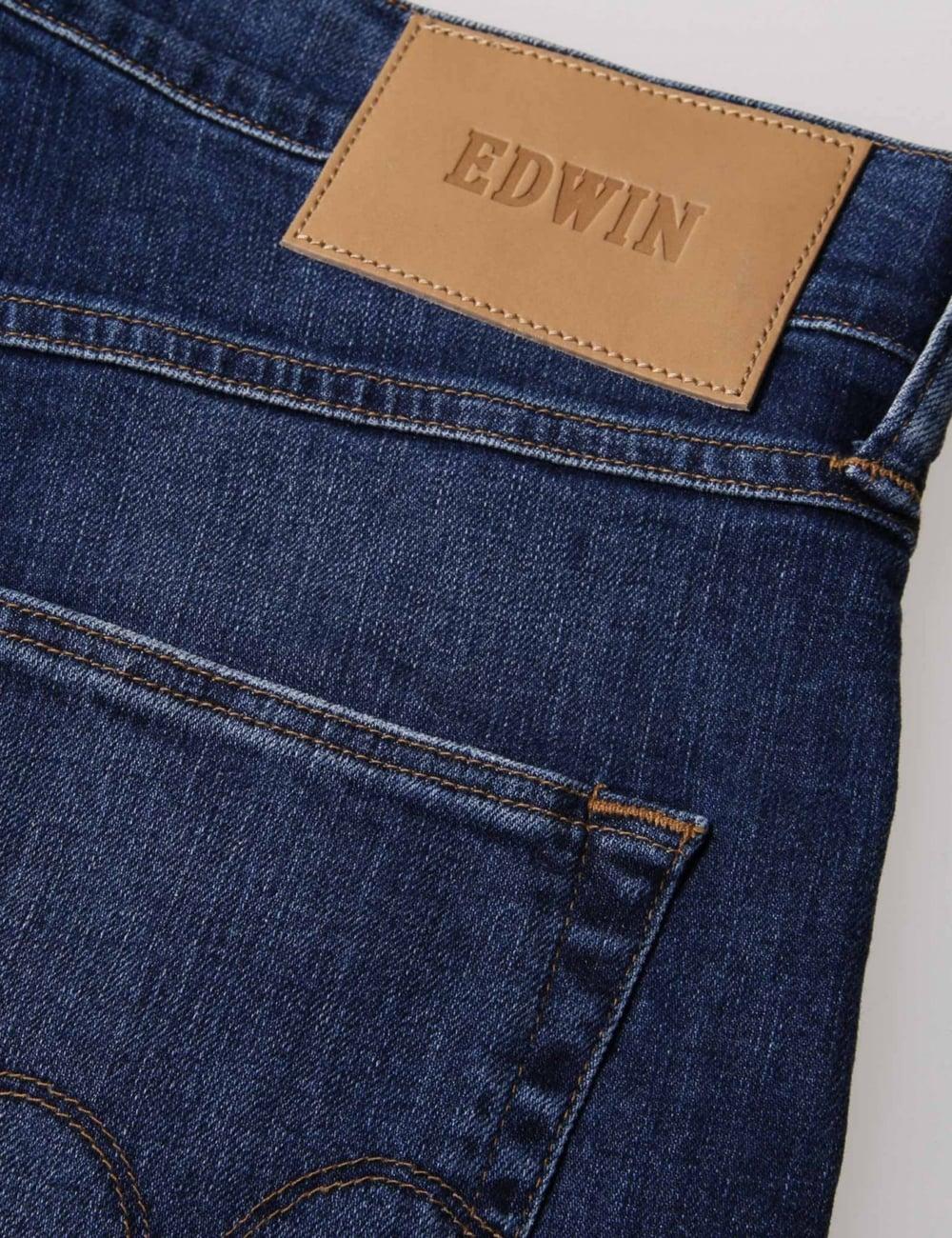 Edwin Europe ED-55 Relaxed Tapered 11oz Listed Dark Blue CS Night Blue Denim