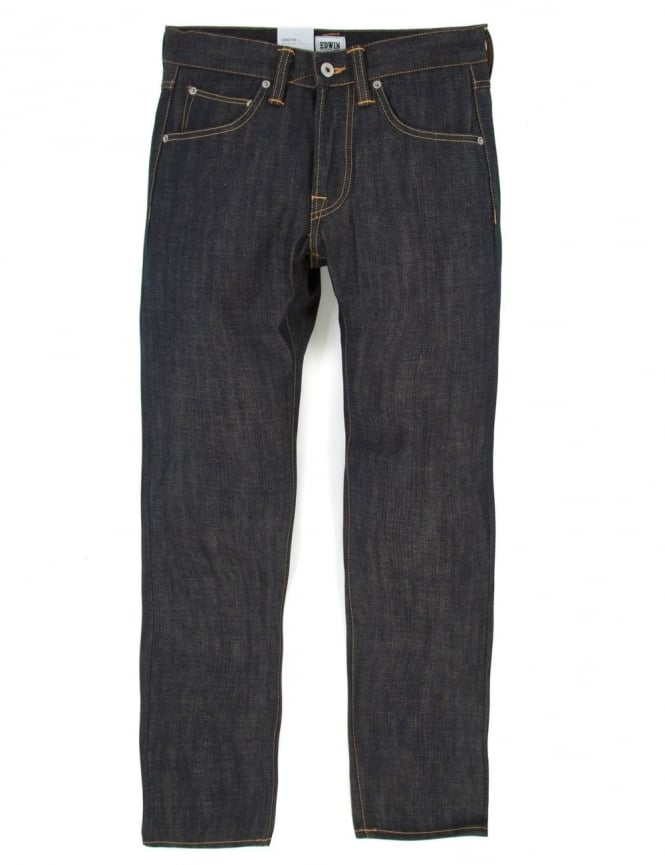 Edwin Jeans ED-55 Slim Tapered Granite Denim - Unwashed