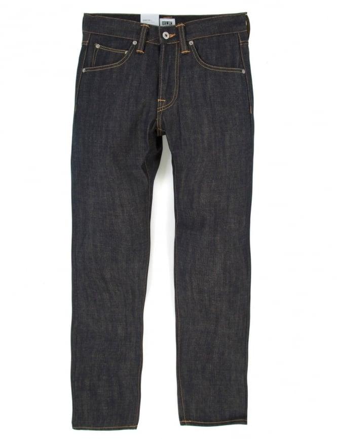 Edwin Jeans ED-55 Slim Tapered Granite Denim - Unwashed