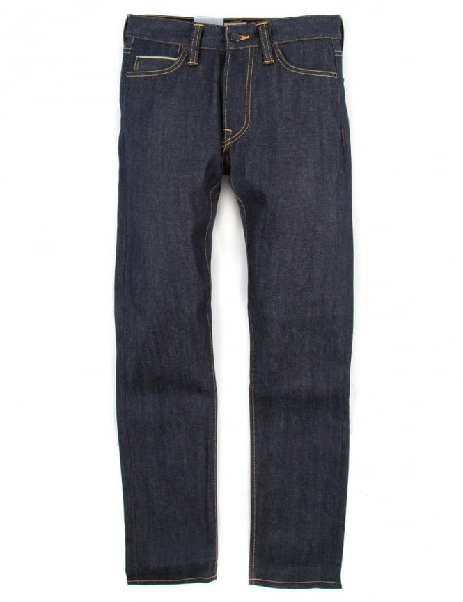 Edwin Jeans ED-75 Relaxed Tapered 63 Rainbow Selvedge Denim - Unwashed
