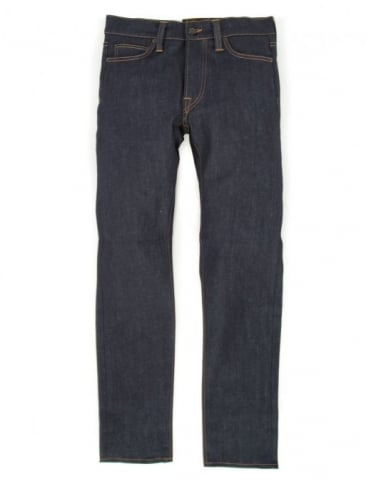 Edwin Jeans ED-75 Relaxed Tapered CS Night Blue Denim - Unwashed