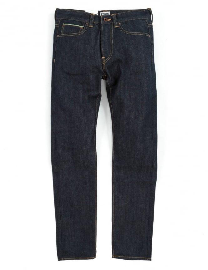 Edwin Jeans ED-80 Slim Taper 63 Rainbow Selvedge Denim - Unwashed